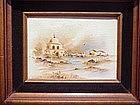 Oil painting, ca 1940
