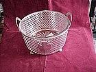 Silver Ice Bucket.