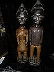 Baule carved statues, ca 1930s