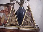 Matched Pair 18th c German Reliquaries 18in