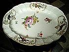 18thc Meissen/Marcolini Hdptd Large plate Bird Motif