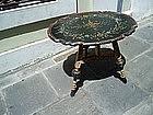 Swedish Painted Wood Folding Table 1920