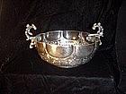 Portuguese Silver Bowl Ca 1900