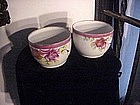 Pair French Cache Pots-Porcelain1880