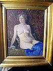 European Nude with Adornments sgnd 1913