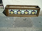 Pr French Arts  and Crafts Tile Planters Sgnd