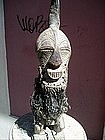 African Carved Sculpture Songye Congo ca 1930s