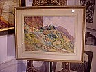 Watercolor-American Landscape-SW /CALIF  20s