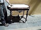 American Rosewood Hall Table Renaissance Rev 1865