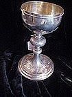 French Silver Chalice-ca 1890-marked