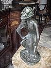Swiss/German Bronze-Danse Macabre