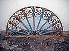 Forged Iron Transom-Spanish Colonial-1880s