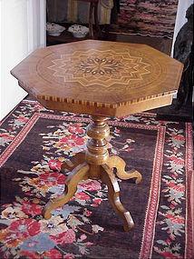 Welsh Aesthetic Inlaid Table-1880s-Tumbridge