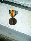 French Bronze Medal/Decoration WWI Victory