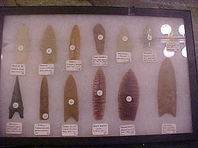 Modern Casts of Famous Paleo Points-Complete Collection