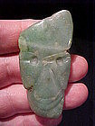 Proto Mayan True Jade Pendant C200BC w/video