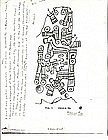 Mixtec Bone Carving of god Xochipilli Ex. Dr. Heflin