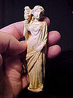 Fine Roman Carved Bone Hygieia Figure 100BC-100AD