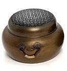 Very Large, Signed Japanese Bronze Brazier, Meiji