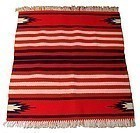 Vintage Native American Chimayo Rug