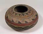 Vintage Southwestern Pottery Seed Bowl