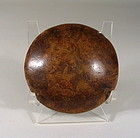 Large Chinese Burl Toggle, 18th C.