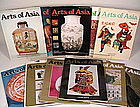 Rare Back Issues of �Arts of Asia� Magazine:  1976 & 77