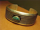 NAVAJO FLORENCE JOHNSON STERLING BRACELET
