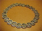 EARLY LOS CASTILLO STERLING NECKLACE
