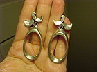 ANTONIO PINEDA STERLING EARRINGS