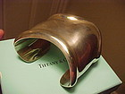 "VINTAGE TIFFANY & CO. ELSA PERETTI STERLING ""BONE CUFF"""