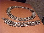 RARE FRED DAVIS NECKLACE AND BRACELET WITH TURQUOISE