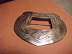 LARGE CARENCE CRAFTERS ARTS & CRAFTS SILVER PIN