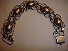 Vintage Denmark  830S Sterling Silver Bracelet