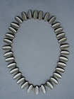 Norway Sterling Silver Enamel Modernist Necklace Modahl