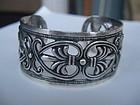 Margot de Taxco Mexican Sterling Silver Cuff Bracelet