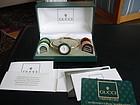 GUCCI Vintage Bangle Bezel Watch  1100L