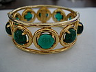 YSL Yves St. Laurent Poured Glass Bracelet Bangle