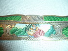 Victorian Italian 800 Silver Enamel Scenic Comb + Case