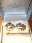 Georg Jensen Denmark Sterling Silver Dove Earrings 66
