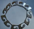 Henry Steig Vintage Modernist Sterling Silver Necklace