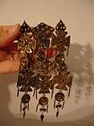 Jacob Tostrup Norway 830S Silver Solje Pin Brooch