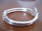 Jane Wiberg Denmark Sterling Silver Modernist Bracelet