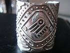Bernice Goodspeed Taxco Sterling Silver Cuff Bracelet