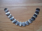 Vintage Anton Michelsen Denmark Sterling Silver Modernist Bracelet
