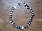 Vintage Anton Michelsen Denmark Sterling Silver Modernist Necklace