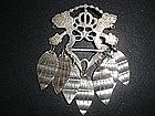 Scandinavian Sterling Silver Solje Brooch FINLAND