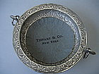 TIFFANY & Co Sterling Silver Wine Coaster