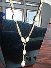 CHANEL Baroque Pearl Necklace 1996