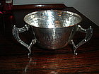 Nathan  Hayes Arts & Crafts Sterling Silver Bowl 1910